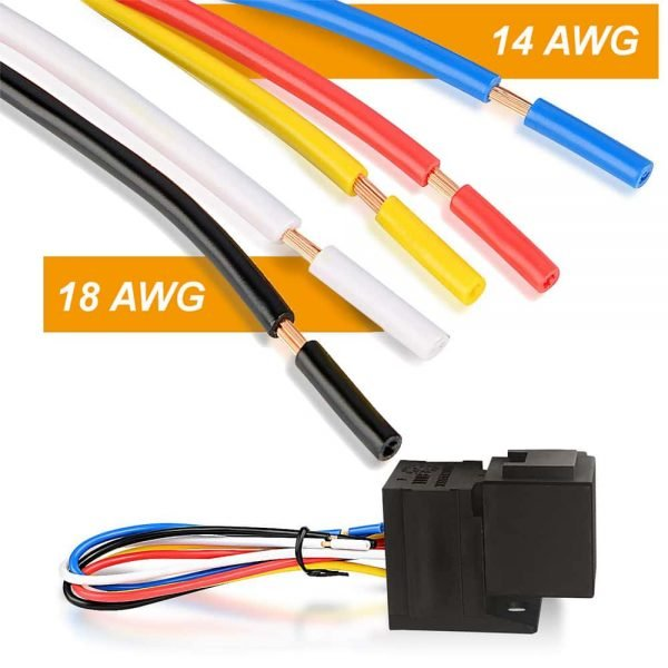 relay socket harness wires