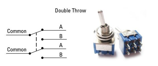 dpdt diagram and switch
