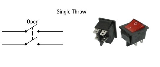 dpst diagram and switch