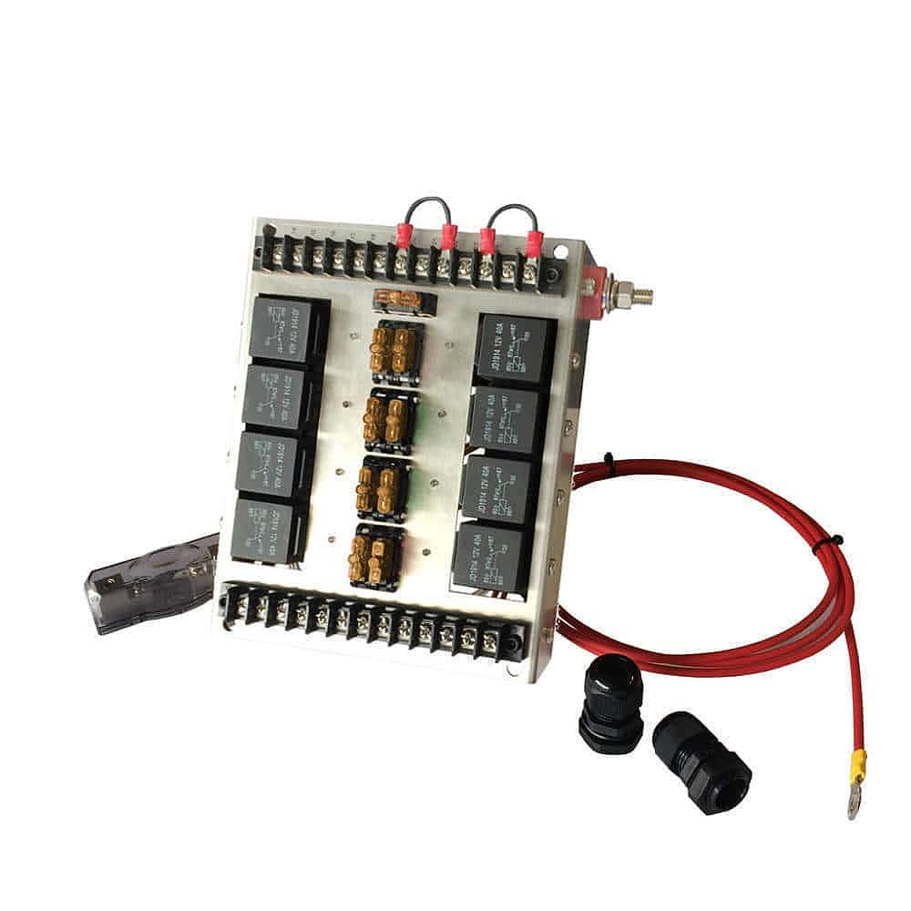 Custom Automotive Fuse Box : Automotive relay fuse panel — v control box mgi