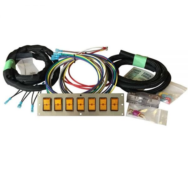 jumbo rocker switch panel kit