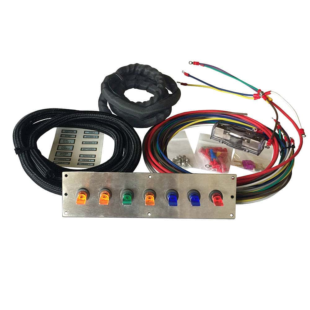 Wiring 12v Toggle Switch Panel Electrical Diagrams A 12 Volt Duckbill Classic Car Mgi Speedware Auto Panels
