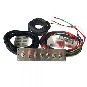 off-road toggle switch panel kit