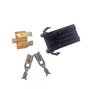 32v automotive blade fuse holder with smart glow fuse