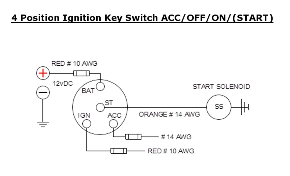 International Diesel Tractor Ignition Switch Wiring