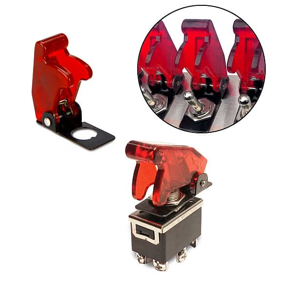 toggle switch aircraft flip covers