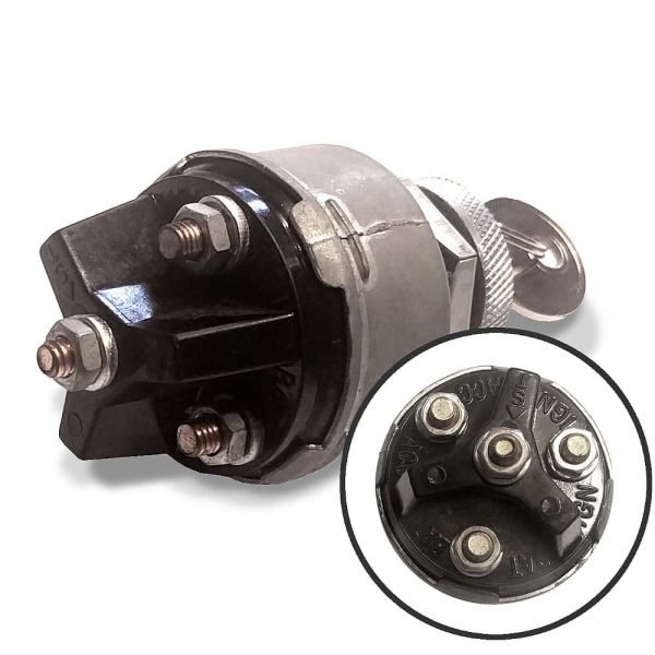 Ignition Key Switch 4 position