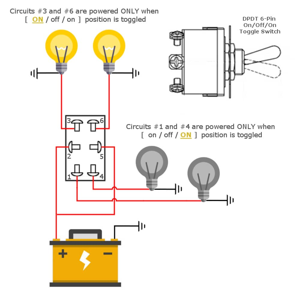 12v Dpdt Toggle Switch Wiring Diagram