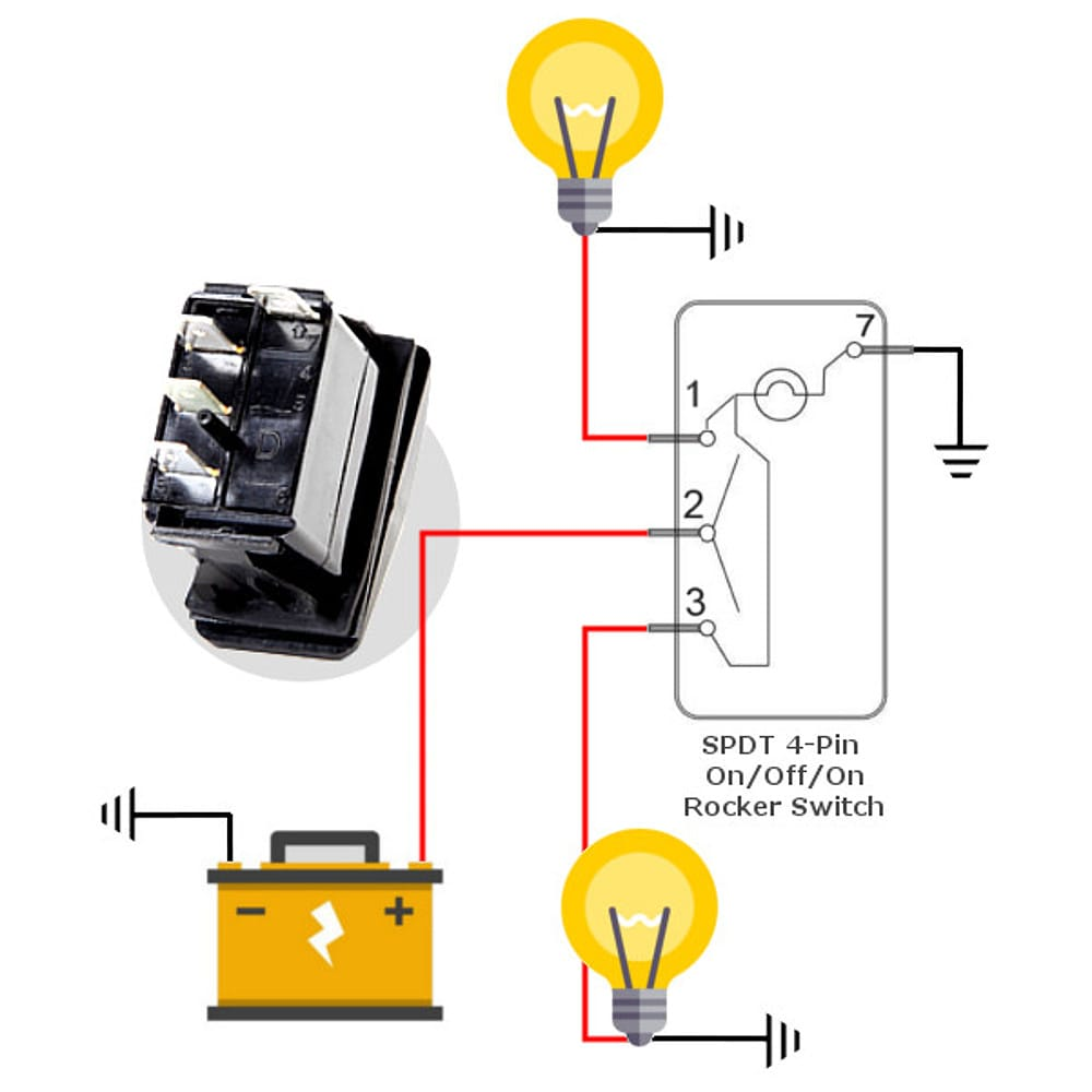 Diagram  Dorman 4 Prong Relay Wiring For Offroad Lights