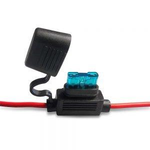 inline blade fuse holder 14 gauge