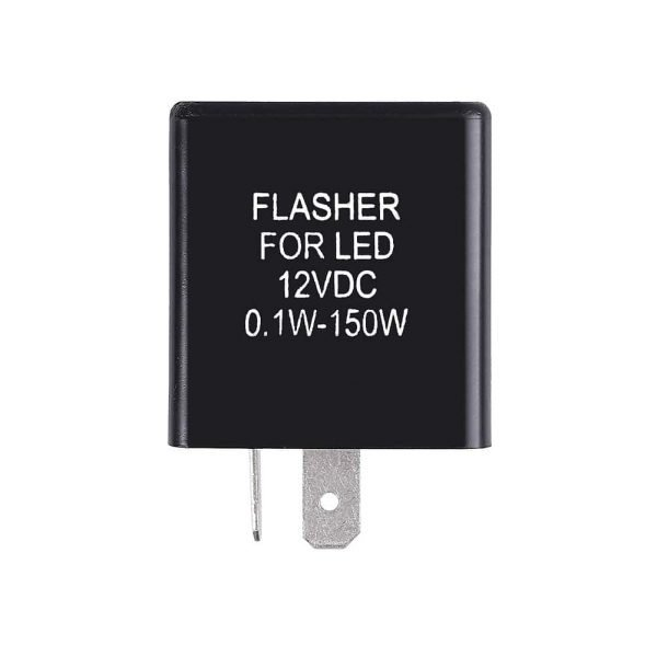 12v LED flasher relay 2 pin
