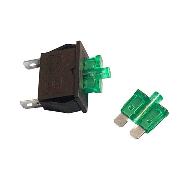 mounted blade fuse holder