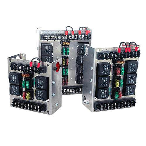 automotive relay panels
