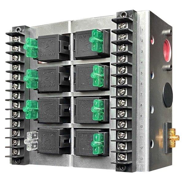 8 relay panel box