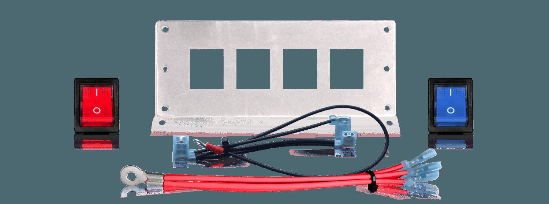 4 Mini Rocker Switch Panel  U2013 Low