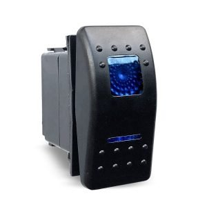 LED Marine Rocker Switch SPDT On/Off/On