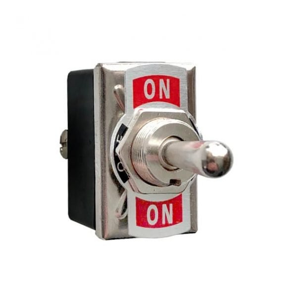 Metal Toggle Switch 6-Pin DPDT On/Off/On