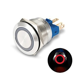 red led pushbutton