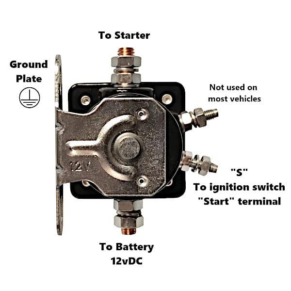 12v starter solenoid wiring