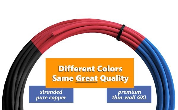 12V Primary Wire (25ft GXL / TXL)