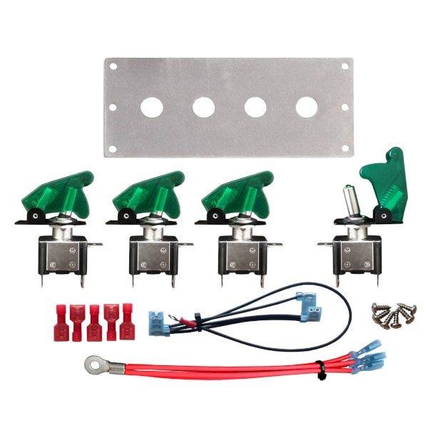 led toggle switch panel kit