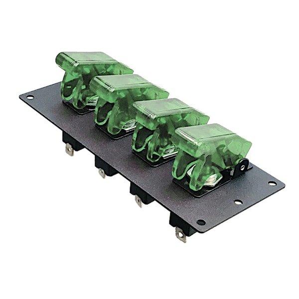 led toggle switch panel