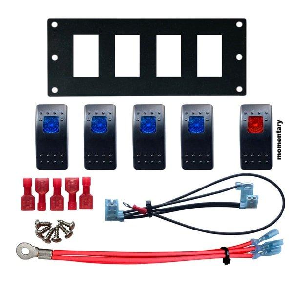 marine rocker switch panel kit