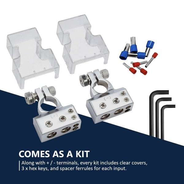 battery terminals kit