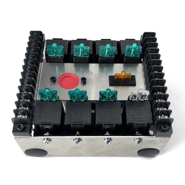 8 relay panel